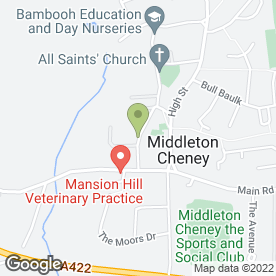 Map of Thames Valley Cleaning Services Ltd in Middleton Cheney, Banbury, oxfordshire