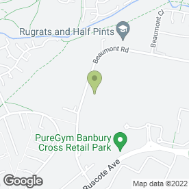 Map of MTS - MEGA TYRE STORE in Banbury, oxfordshire