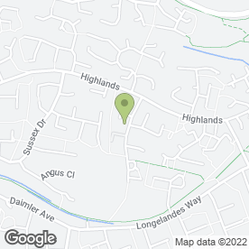 Map of Hardwick & West Bar Surgery in Banbury, oxfordshire