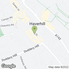 Map of D:Fine Hair & Beauty in Haverhill, suffolk