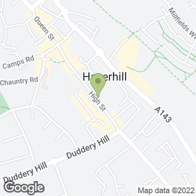 Map of 1ST STOP RECRUITMENT in Haverhill, suffolk