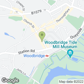 Map of Hartwood Floors Ltd in Woodbridge, suffolk