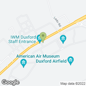 Map of Eliance Restaurants Ltd in Duxford, Cambridge, cambridgeshire