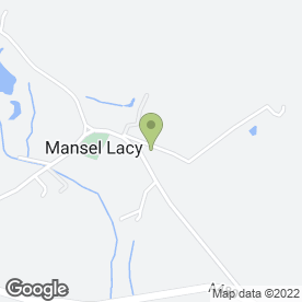 Map of Pooch Graphic Design & Print Management in Mansel Lacy, Hereford, herefordshire