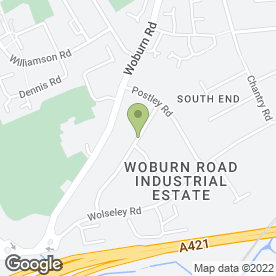 Map of Polaris Medical Ltd in Kempston, Bedford, bedfordshire