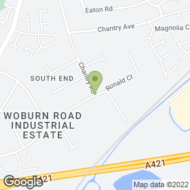 Map of Motorserv Ltd in Kempston, bedfordshire