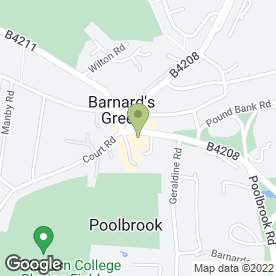 Map of Barnards Green Fish Bar in Malvern, worcestershire