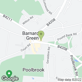 Map of Food Factory in Malvern, worcestershire