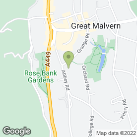 Map of Three Counties Chimney Sweep in Malvern, worcestershire