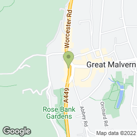 Map of The Beauty Spot (Malvern) in Malvern, worcestershire