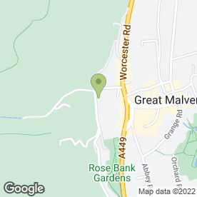 Map of Energy Matters (UK) in Malvern, worcestershire