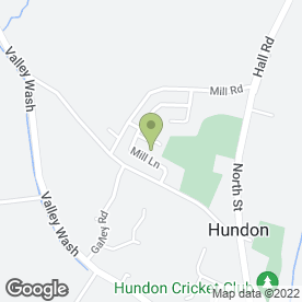 Map of Bury Paving & Landscapes in Hundon, Sudbury, suffolk