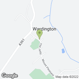 Map of M.J Baldwin Wood Floors in Wardington, Banbury, oxfordshire