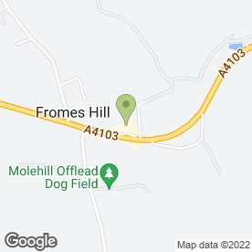 Map of Fromes Hill Trading in Fromes Hill, Ledbury, herefordshire