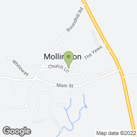 Map of Cotterill's in Mollington, Banbury, oxfordshire