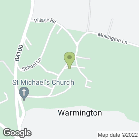 Map of Donald James Architects Ltd in Warmington, Banbury, oxfordshire