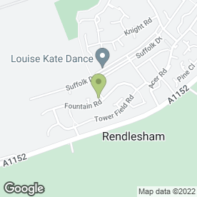 Map of M & E Decor Ltd in Rendlesham, Woodbridge, suffolk