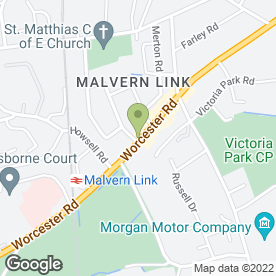 Map of Paytons in Malvern, worcestershire