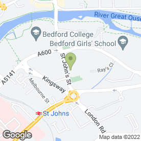 Map of Serino Flooring in Bedford, bedfordshire