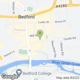 Map of Chef Beijing in Bedford, bedfordshire
