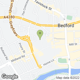 Map of Thinking Machines in BEDFORD, bedfordshire
