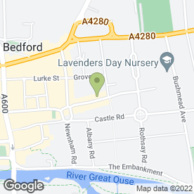 Map of W & H Peacock in Bedford, bedfordshire