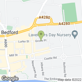 Map of Can in Bedford, bedfordshire