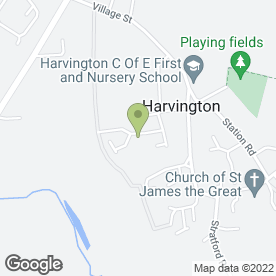 Map of Food Marketing Services in Harvington, Evesham, worcestershire
