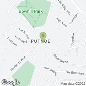 Map of Putnoe Medical Centre in Bedford, bedfordshire