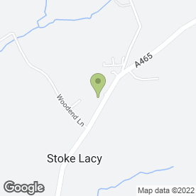 Map of Neville Symonds Associates in Stoke Lacy, Bromyard, herefordshire