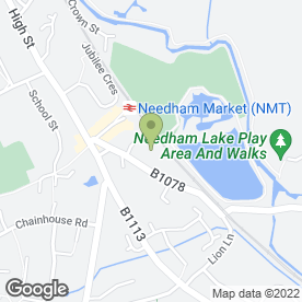 Map of Accountancy & Administration Services Ltd in Needham Market, Ipswich, suffolk