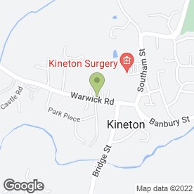 Map of South Warwickshire Contractors in Kineton, Warwick, warwickshire