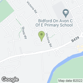 Map of Budgens in Bidford-on-Avon, Alcester, warwickshire