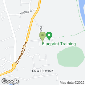 Map of Lowes Garage & Worcester Towbar in Weir Lane, Worcester, worcestershire