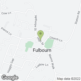 Map of Body Image in Fulbourn, Cambridge, cambridgeshire