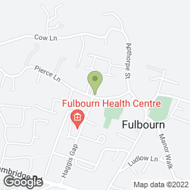 Map of 1066 Pianos in Fulbourn, Cambridge, cambridgeshire
