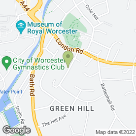 Map of Key 2 Secure in Worcester, worcestershire