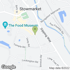 Map of Chinese Chequers in Stowmarket, suffolk