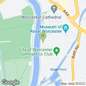 Map of DIGLIS HOUSE HOTEL in Worcester, worcestershire