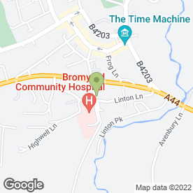 Map of Bromyard Community Transport in Bromyard, herefordshire