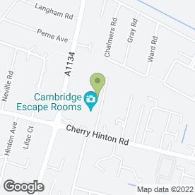 Map of Event Travel in Cambridge, cambridgeshire