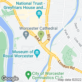 Map of Mail Boxes Etc in WORCESTER, worcestershire