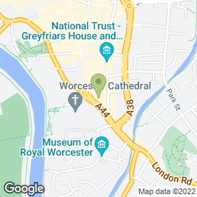 Map of Mr Movers in Worcester, worcestershire