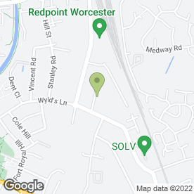 Map of Worcestershire Removals in Worcester, worcestershire