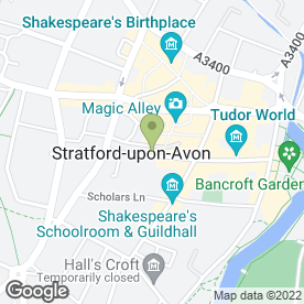 Map of Estate Agents & Chartered Surveyors Sheldon Bosley in Stratford-Upon-Avon, warwickshire
