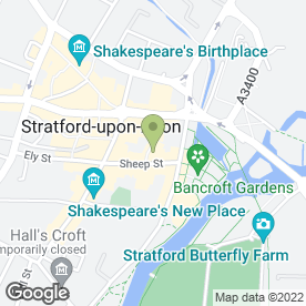 Map of Snips in Stratford-Upon-Avon, warwickshire