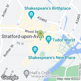 Map of NAIL STUDIO in Stratford-Upon-Avon, warwickshire