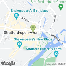 Map of McDonald's Restaurant Ltd in Stratford-Upon-Avon, warwickshire
