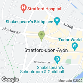 Map of The Lamplighter in Stratford-Upon-Avon, warwickshire
