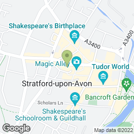 Map of Fat Face Ltd in Stratford-Upon-Avon, warwickshire